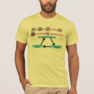 Holy Trinity Of Christian Arguments (Men's) T-Shirt