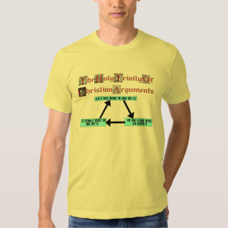 Holy Trinity Of Christian Arguments (Men's) Tees