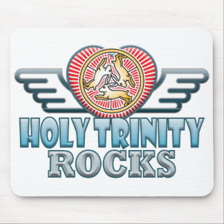 Holy Trinity Rocks Mouse Pad
