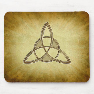 Holy Trinity Symbol Design Mouse Pad