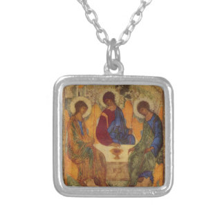 Holy Trinity with Wings c1410 Necklace