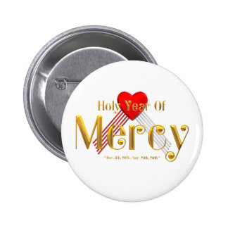 Holy Year of Mercy 6 Cm Round Badge