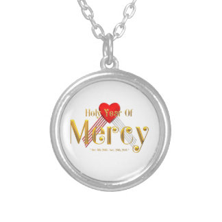 Holy Year of Mercy Silver Plated Necklace