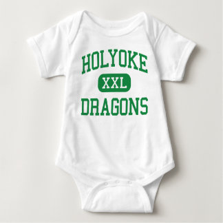Holyoke - Dragons - High School - Holyoke Colorado Baby Bodysuit
