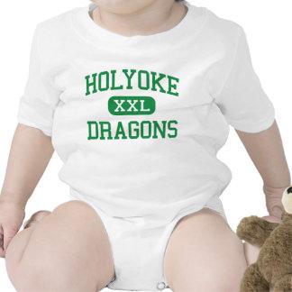 Holyoke - Dragons - High School - Holyoke Colorado Baby Creeper