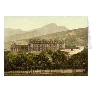 Holyrood Palace, Edinburgh, Scotland Greeting Card