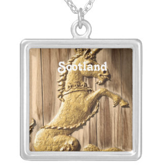 Holyrood Palace Square Pendant Necklace