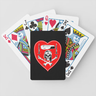 Homage à Nungesser Bicycle Playing Cards