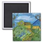 Homage to Cezanne magnet