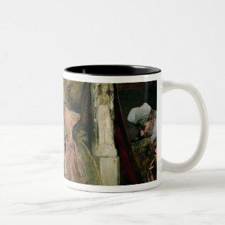 Homage to Clovis II Two-Tone Coffee Mug