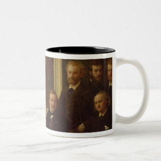 Homage to Delacroix, 1864 Two-Tone Coffee Mug