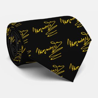 HOMAGE TO MOZART Gold Signature Of Composer,Black Tie