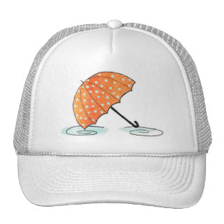 Homberries Umbrella with Puddles Hat