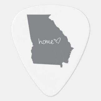 Home <3 Georgia Guitar Pick