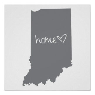 Home <3 Indiana Poster