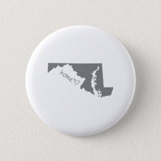 Home <3 Maryland 6 Cm Round Badge