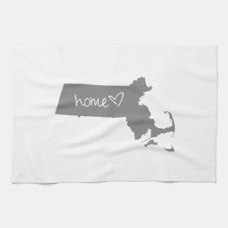 Home <3 Massachusetts Hand Towel