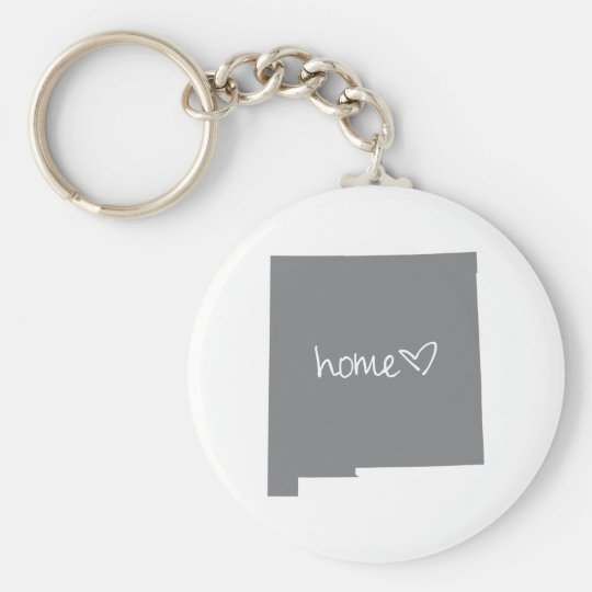 Home <3 New Mexico Key Ring
