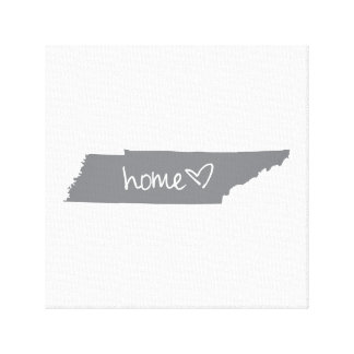 Home <3 Tennessee Canvas Print