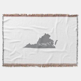 Home <3 Virginia Throw Blanket