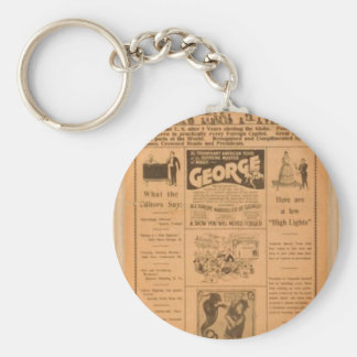 Home again in the Big Tent Theatre Retro Theater Keychains