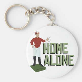 Home Alone Basic Round Button Key Ring