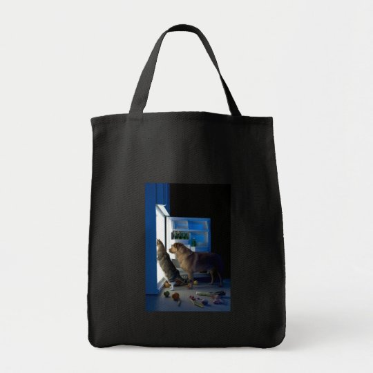 Home Alone Dog & Cat Canvas Tote