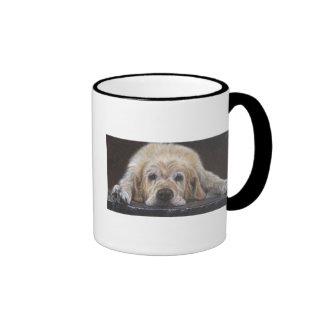 Home Alone Golden Retriever Ringer Mug