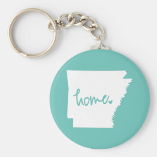 Home Arkansas Custom Color Key Ring