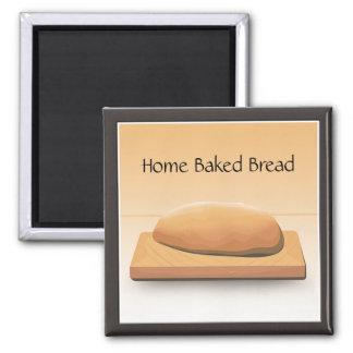 Home Baked Bread Custom Magnet