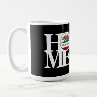 HOME Ben Lomond 15oz Black Basic White Mug