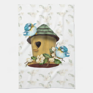 HOME BIRD SONGS Linen with crockery Kitchen Towel