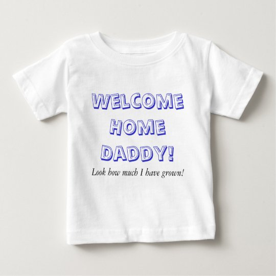 Home-Blue Baby T-Shirt
