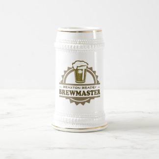 Home Brew Beer Brewmaster Beer Stein