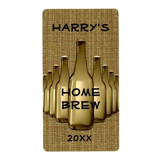 Home Brew Label