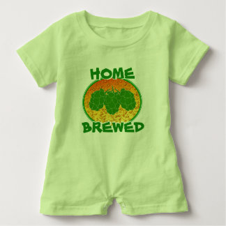 Home-Brewed Baby Romper Baby Bodysuit
