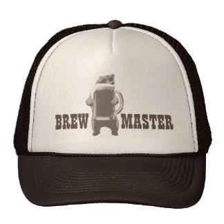 Home Brewing Brewmaster Beer Bear Cap
