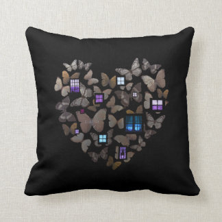 Home by David Rusbatch Throw Pillow
