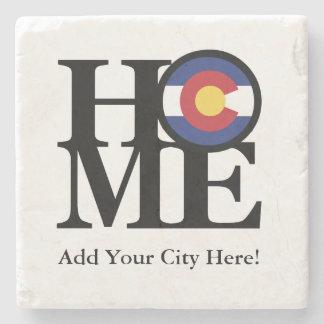 HOME Colorado Stone Coaster