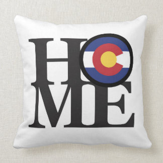HOME Colorado Throw Pillow White