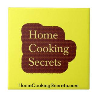 Home Cooking Secrets Table Trivets Ceramic Tiles
