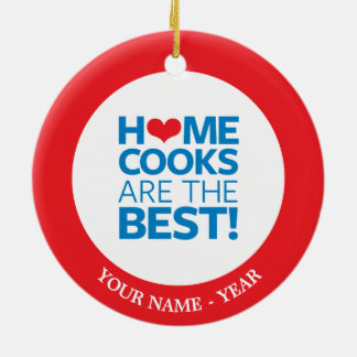 Home Cooks Are The Best Christmas Ornament
