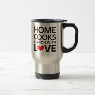 Home Cooks Season With Love Travel Mug