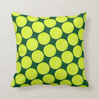 home decor tennis yellow balls cushion