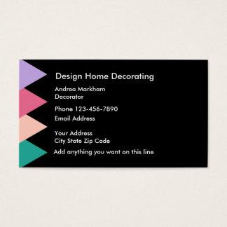 Home Decorator Businesscards Business Card