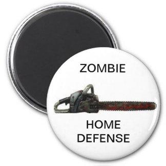 Home Defence 6 Cm Round Magnet