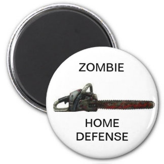Home Defense 6 Cm Round Magnet