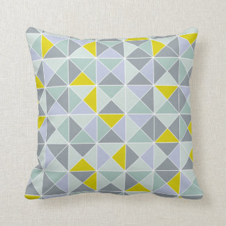 Home design pillow in geometric pattern pillow