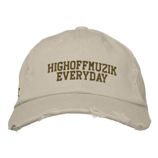 Home embroidered worn in cap embroidered hat