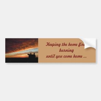 Home Fires Bumper Sticker